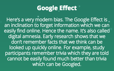 Google Effect on SEO