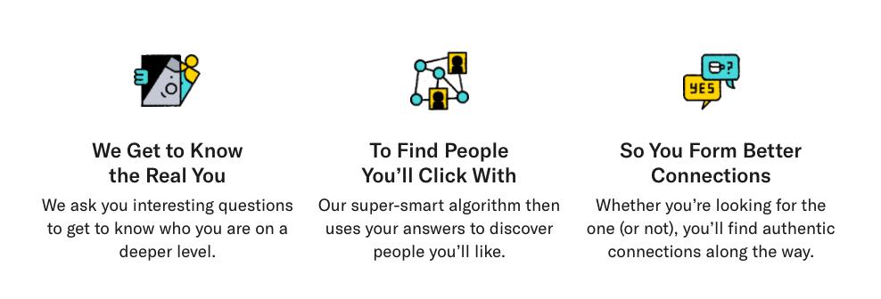 OKCupid homepage