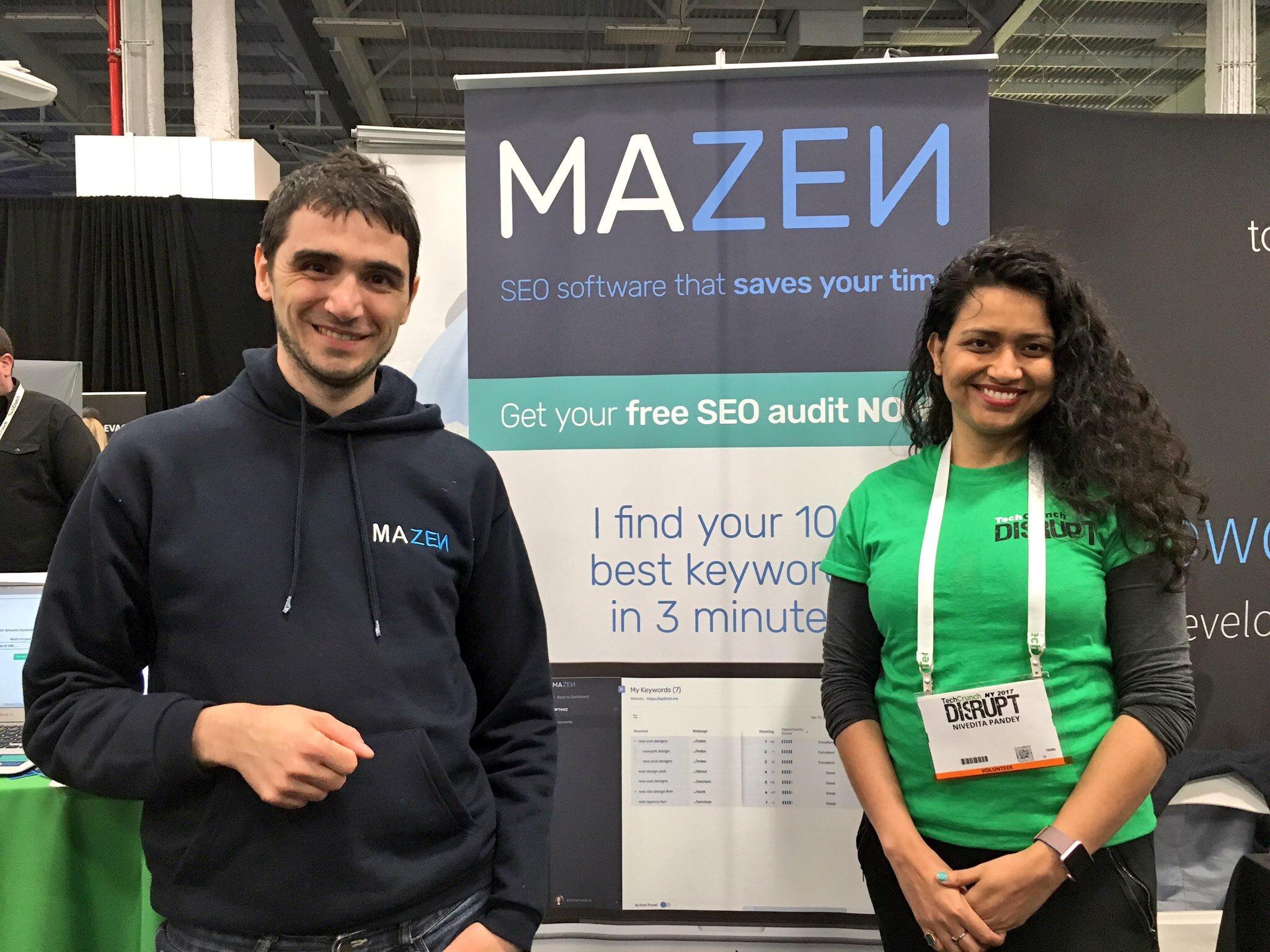Mazen incubator at Galvanize