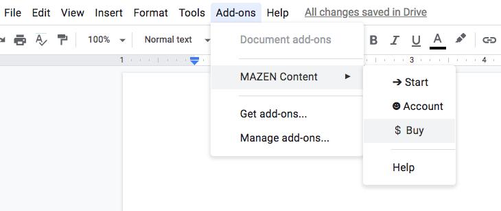 buy mazen content